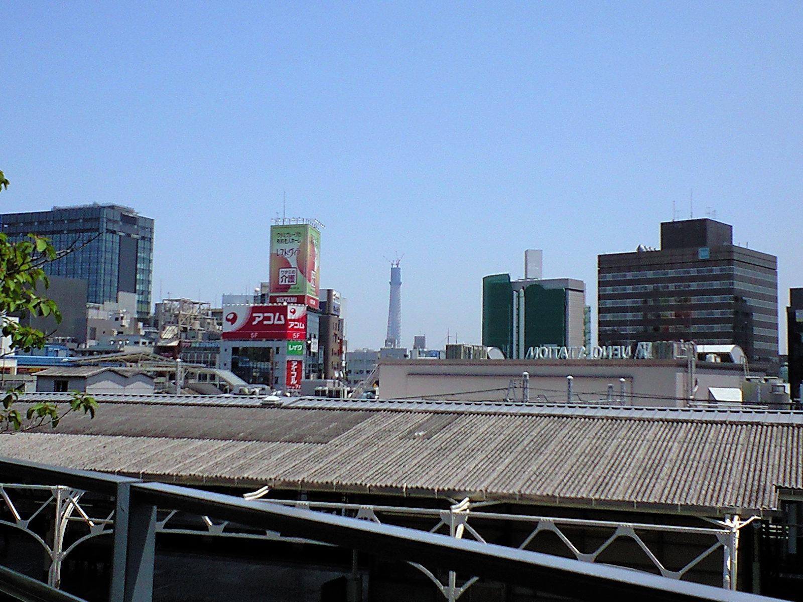 新東京タワー?前回より背が伸びていた△