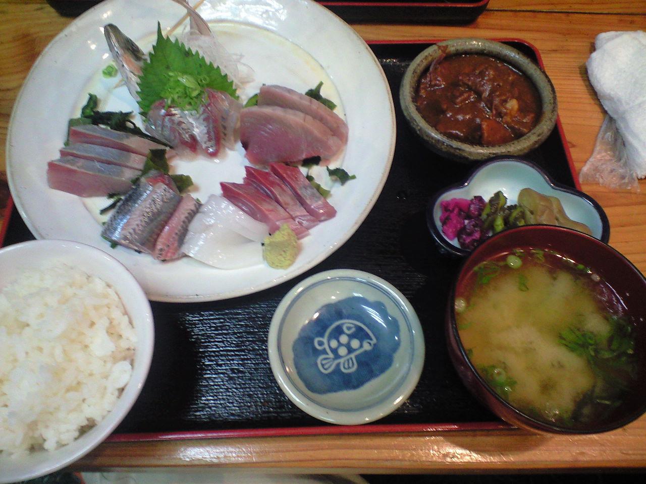 稲取温泉の夕飯