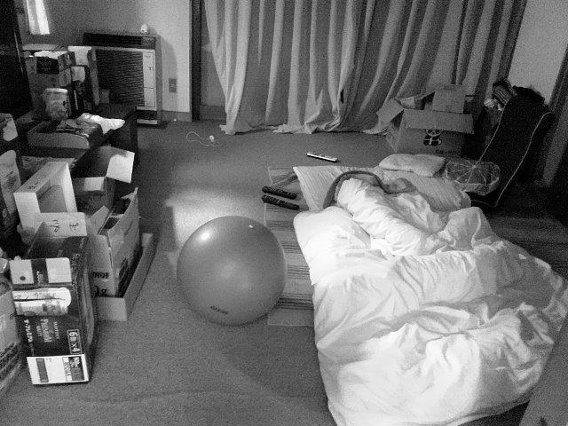 リビングとおこたつの部屋