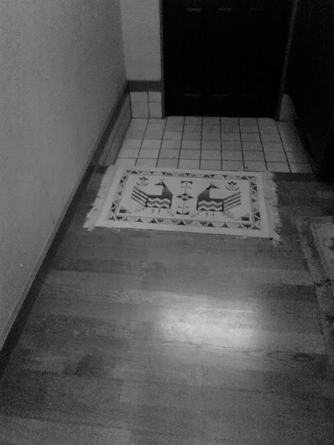 玄関と体重