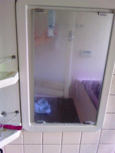 風呂場の鏡